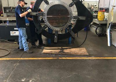 field machining industrial valve 3