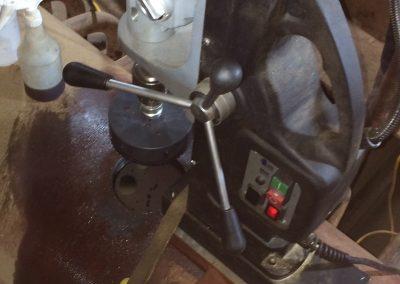 field machining industrial valve 6