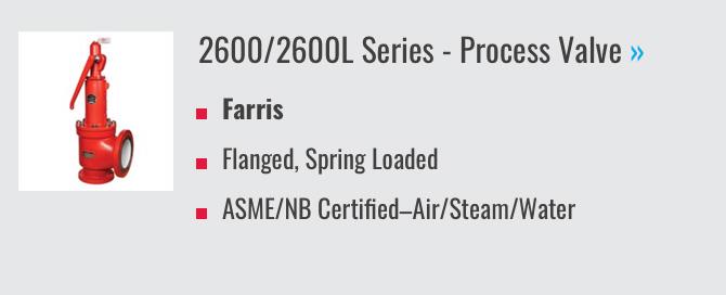 2600/2600L Series - Process Valve